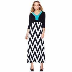 Hot in Hollywood Striped Maxi Dress