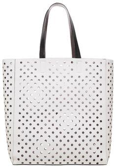New Look Torba na zakupy biała shopper bag white
