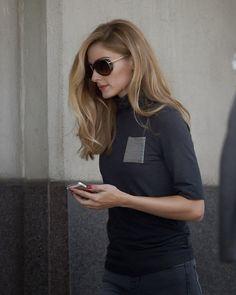 Olivia Palermo in Manhattan