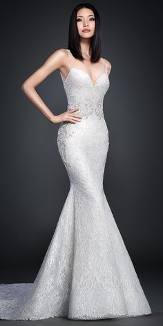 106 best trumpet wedding dresses images on pinterest short wedding ivory chantilly lace over silver shimmer tulle trumpet bridal gown shear nude net at front junglespirit Choice Image