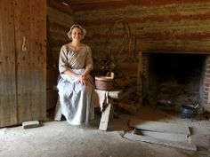 Colonial Williamsburg Interiors miller shop | Williamsburg: Colonial Cabin, Interior