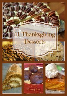 11 Thanksgiving Dessert Recipe Roundup