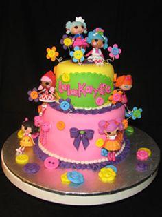 make lalaloopsy birthday cake