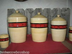 M Western Canister Set   Cowboy Kitchen | Western U0026 Southwestern Home Decor  | Pinterest | Canister Sets, Kitchens And Western Decor
