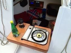 Build a small boat galley box for camp cruising