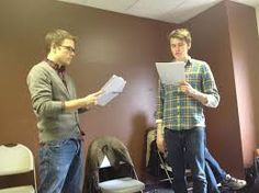 Reading Rehearsal: Is when you get the script and read it over with the other actors. Drama Class, The Script, Actors, Reading, Actor, Word Reading, Reading Books, Libros
