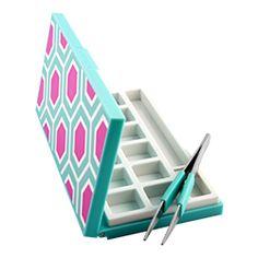 Origami Owl Custom Jewelry | Mini Charm Case with Tweezers