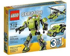 Lego Creator 31007 Power Mech NEW in Box!!