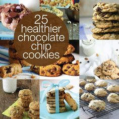 25 Healthier Twists on the Chocolate Chip Cookie