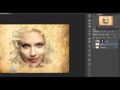 photoshop tutorials watercolor effect