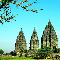 """""""Prambanan temple, a UNESCO World Heritage Site, is the largest Hindu temple site in Indonesia, and one of the biggest in Southeast Asia. It is…"""""""