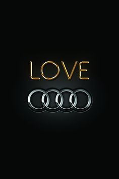 #Audi #Love #wallpaper #FourRings
