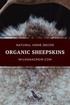 I offer handtanned sheepskins regularly in my shop. The sheepskins are tanned with natural fats and oils only, and softened by hand. Perfect to bring extra coziness to your home ♥ #sheepskins #naturalhomedecor #ethicalsheepskins Natural Home Decor, Crow, Decorating Your Home, I Shop, Shopping, Raven, Crows