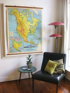 Gabulle in wonderland: Sélection déco : cartes et mappemondes