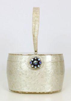 Bolso - Lucite - marfil de la perla - Wilardy