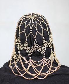 Eleanor Headdress. $190.00, via Etsy.