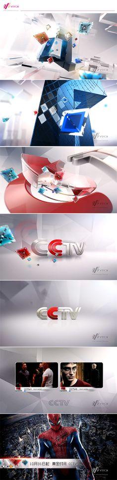 2013 CCTV publicity promo by YIYK, via Behance