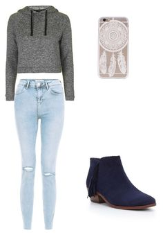 """""""Cute Outfit"""" by fungiral on Polyvore featuring Topshop and Sam Edelman"""