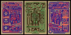 3NES art Show by Jesse Philips, via Behance