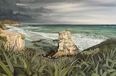 """Shane Walker's father always jokes, """"you've been doing your apprenticeship for 28 years."""" Walker, a painter from the small coastal town of Waihi Beach, at the northern end of the Tauranga Harbour, describes himself as a lover of art from a very young age."""