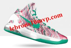 Nike KD V christmas graphic Atomic Green White