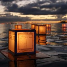 I'm hoping to light a lantern for this years Lantern Lighting Ceremony in Honolulu 26 May 2014! Can't wait!!!