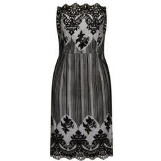 *Laced in Love Black Lace Bandeau Dress
