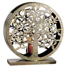 #aurelieshexenladen #GildeHandwerk #MetallWindlicht #Windlicht #WindlichtLebensbaum Kegel, Messing, Flower Of Life, Sacred Geometry, Copper, Metal, Stones, Corning Glass
