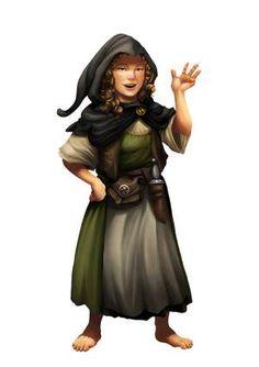 f Halfling Rogue Thief Dagger lwlvl