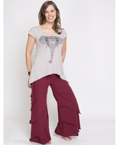 Painted Elephant Women's Ebb and Flow Top