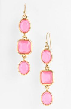 kate spade new york 'coated confetti' linear earrings | Nordstrom