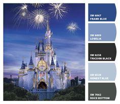 Cinderella Castle - Chip It- Need to find grey color for bathroom