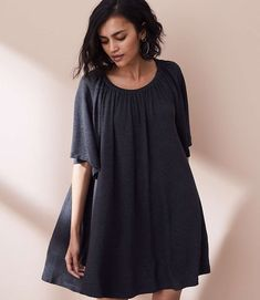 Shop Lou & Grey women's clothing for a comfortably confident life. You'll love our easy Lou & Grey Signaturesoft Swingy Tee Dress - shop louandgrey.com today!