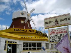 Dutch Haven Shoo-Fly Pie Bakery • Insider Tip: This icon from the kitschy era of Pennsylvania Dutch tourism is still a great spot for a photo opp, not too mention a free taste of one of Lancaster's signature desserts.
