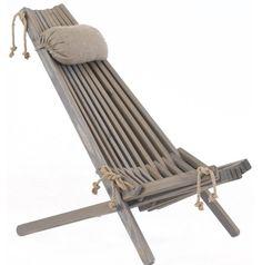 Nordic Design Deckchairs Wood & Rope