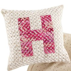 Alpha-Stitch Pillow Craft Kit in All Toys | The Land of Nod
