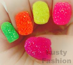 Gumdrop nails! Perfect for the office, meetings with your boss....