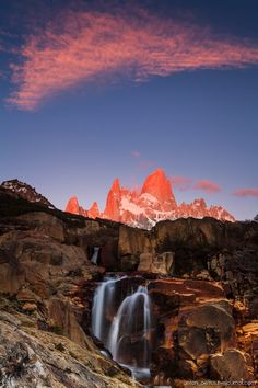 Sunrise at Fitz Roy, Patagonia, Argentina