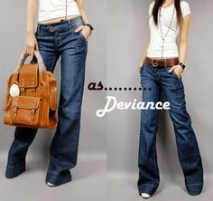 women's wide leg jeans low waist jeans | Pants | Pinterest ...