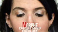 Morphe 35oS Color Shimmer Natural Glow Warm Nude Natural Shimmer Glow