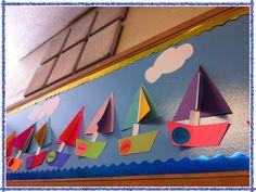 My Sailboat Bulletin Board :)