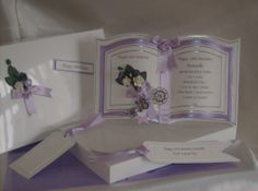 Handmade Luxury Bookatrix 18th 21st Daughter Birthday Card