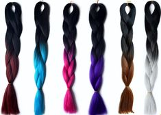 Ombre Hair Braiding Extensions