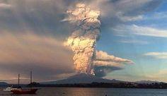 Volcán Calbuco, Puerto Varas, Chile Abril 2015