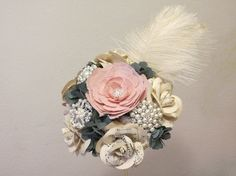 20's Great Gatsby Paper Bouquet Paper & by PaperGardenGallery