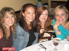 Erica Durance, Kristin Kreuk, Annette O'Toole, Allison Mack by carola_hoo, via Flickr
