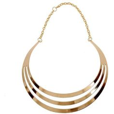 Yoins Yoins Gold Collar Necklace ($4.09) ❤ liked on Polyvore featuring jewelry, necklaces, gold, collar necklace, gold jewellery, yellow gold necklace, gold jewelry and gold necklaces