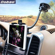 Gooseneck Adjustable 7 To 11 inch Tablet Holder Car Cup Tablet Mount Holder Stand Bracket For iPad 4 3 2 Mini For Galaxy Tablet
