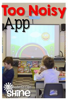 Students Can Shine: Apps For Classroom Management Too Noisy Meter, Name Selector, Group Creator!All Students Can Shine: Apps For Classroom Management Too Noisy Meter, Name Selector, Group Creator! Primary Classroom, Future Classroom, School Classroom, Classroom Ideas, Classroom Timer, Music Classroom, Classroom Noise Level, Classroom Layout, Classroom Behavior Management