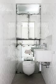 Mirrors – Home Decor : Small space bathroom. Sand the backside of the mirror to get this effect -Read More –